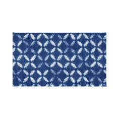 Reminiscent of the Japanese tie-dying technique known as shibori, we love the unique pattern of this area rug. Made of 100 percent woven polyester, it is both soft and durable. Place in your living roo...  Find the Shibori Blue Rug, as seen in the Bohemian Blues Collection at http://dotandbo.com/collections/saturated-bohemian-blues?utm_source=pinterest&utm_medium=organic&db_sku=101940