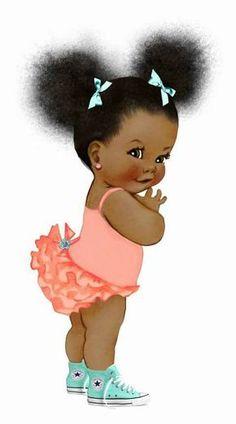 Special Themes Baby Afro - Rice Kantinho Cake Paper- Temas Especiais Bebê Afro – Papel Arroz Kantinho do bolo Special Themes Baby Afro – Rice Kantinho Cake Paper - Black Love Art, Black Girl Art, Art Girl, African American Art, African Art, African Dolls, Black Girl Cartoon, Images Disney, Illustration Mode