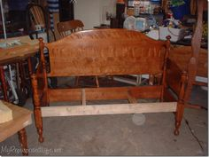1000 images about headboard sofa on pinterest benches headboard and footboard and - Adirondack bed frame ...