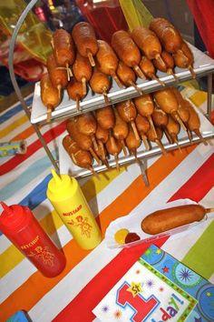 Carnival food ideas