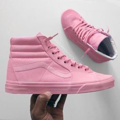 shoes pastel sneakers urban pastel pink sk8-hi sneakers pink rihanna vans baby pink perfect