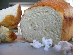 Hot Buttered Popcorn Bread