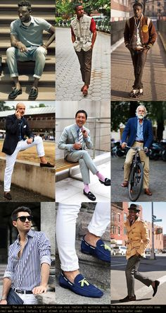 Men's Loafers Lookbook Inspiration