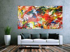 Acrylic on Canvas 200x100cm - Preis auf Anfrage