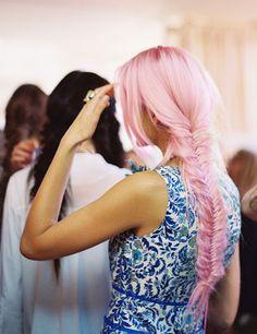MINKPINK pink hair
