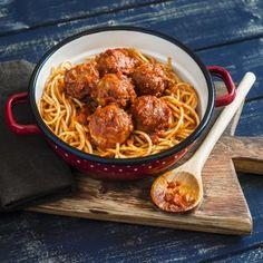 Recette - Spaghettis aux boulettes de viande | 750g