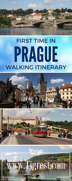 Prague walking itinerary for first time visitor - things to do and see if you only have one day here - Prague old town famous attractions