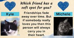 Which friend has a soft spot for you?
