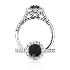7117-Natural-Coloured-Diamonds-Black-Halo-Ring