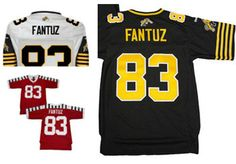 e45cb51da5d 2015 New Hamilton Tiger Cats Jerseys TC 83# Andy Fantuz Jersey CFL White  Black Red Embroidered Jerseys Free Shipping 1 order Price: US $49.99 / piece