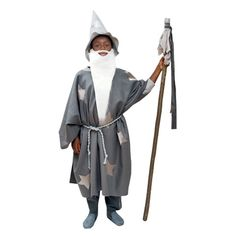 Conjure up a bit of Halloween magic with this wizard costume.