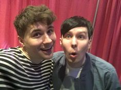 Image result for Dan and Phil March 2017