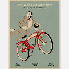 Pee Wee Inspired 18x24 now featured on Fab.