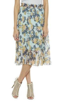Disney's Cinderella Floral Midi Skirt - Juniors