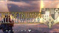 Destiny: Age of Triumph - Exotic Adept Weapons & Armor Ornament Showcase...