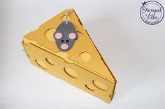 Stampin'Up! Thinlits Tortenstück, Cutie Pie Thinlits, Verpackung für Geldgeschenke, Maus und Käse