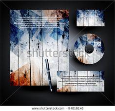Corporate Business Template Stock-Vektorillustrationsnummer: 94016146 : Shutterstock