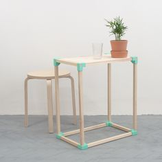 The SMF 0.2 furniture project standing for Self Made Furniture is very simple to…