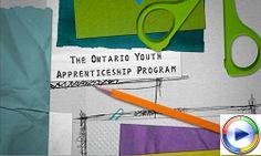 Ontario Youth Apprenticeship Program: General Information @ YRDSB Job Search, Programming, Ontario, Youth, Community, Education, Training, Educational Illustrations, Learning