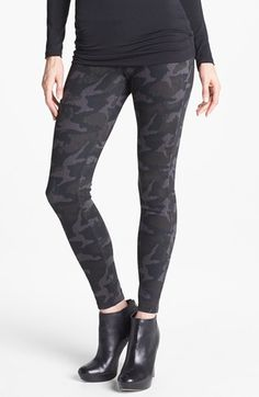 Hue Camo Print Leggings available at #Nordstrom These are cool - like the brocade better