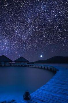 Milky Way in Song Saa Island