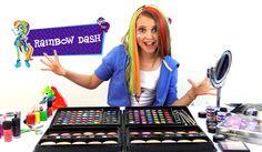 RainbowDash - Tutorial de Maquillaje - Equestria Girls (Español)