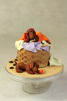 Funny Dogs Cake