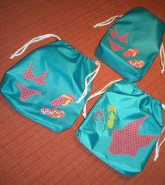 Bolsas para ropa de playa