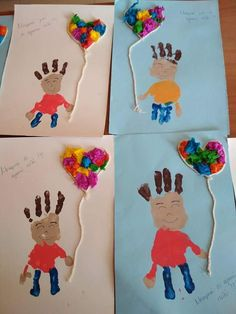Father's Day Crafts for Kids Kids Crafts, Daycare Crafts, Preschool Crafts, Diy And Crafts, Arts And Crafts, Diy Father's Day Gifts, Father's Day Diy, Halloween Decorations For Kids, Halloween Kids