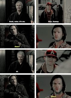 [gifset] 5x07 The Curious Case Of Dean Winchester vs.10x12 About A Boy #SPN #TeenDean #Sam