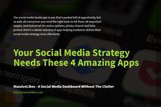 Social Media Landscape, Social Media Marketing, Management, Apps, Amazing, App