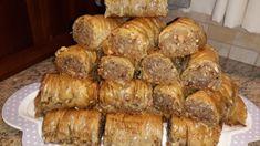 Σαραγλί : Η καλύτερη παραδοσιακή συνταγή Greek Sweets, Confectionery, Sausage, Buffet, Pork, Favorite Recipes, Bread, Kale Stir Fry, Sausages