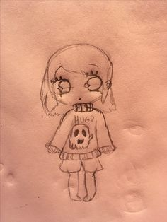 OC #1 Kia Begay, a girl who is obsessed with scary stories and poetry, she enjoys knitting her own sweaters and eating ice cream. Her sweater is pastel purple with a white ghost on it. She wears black tights under her pastel pink shots. She has tan skin and dark brown eyes and hair. She's all Native American and can speak Navajo. {By: @It_Is_Moe}
