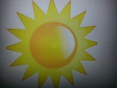Geel denk ik aan de zon