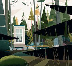the-gasoline-station:  Cabins by Marie-Laure Cruschi...