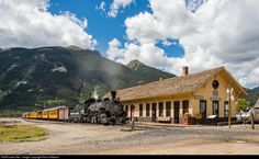 RailPictures.Net Photo: DSNG 486 Durango & Silverton Narrow Gauge Railroad Steam 2-8-2 at Silverton, Colorado by Kevin Madore