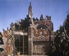 Imagen de la Casa-estudio de San Jerónimo, de Juan O'Gorman. | INSTITUTO NACIONAL DE BELLAS ARTES