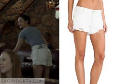 Shameless: Season 5 Episode 5 Fiona's White Denim Shorts