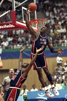 """I've missed more than 9,000 shots in my career. I've lost almost 300 games. Twenty-six times, I've been trusted to take the game winning shot and missed. I've failed over and over and over again in my life. And that is why I succeed."" -- Michael Jordan, gold medalist in basketball in 1992 and 1984"