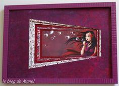Catherine D. / élève de Manel / PP en trapèzes décalés Decoration, Parfait, Frames, Photos, Blog, Ideas, Home Decor, Craft, Cartonnage