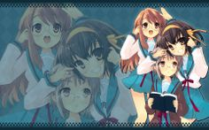 melancholy of haruhi suzumiya Beats Wallpaper, Hd Wallpaper, Anime Naruto, Anime Guys, Haruhi Suzumiya, Angel Beats, This Little Piggy, Orange Crush, Cool Backgrounds