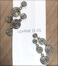 Polymer Clay 'Speira' Earings