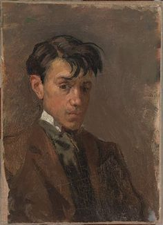 Here are 10 masterpieces of the early Picasso - from before Blue Period. All of them belongs to the collection of Museu Pablo Picasso in Barcelona. Pablo Picasso, Kunst Picasso, Art Picasso, Picasso Paintings, Malaga, Picasso Self Portrait, Cubist Movement, Georges Braque, Guernica