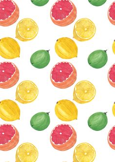 Tutti Frutti by Ashley Le Quere, via Behance