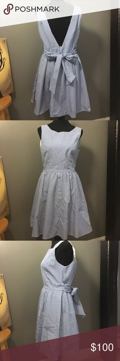 Lauren James Emerson Dress Brand new with tags, never worn. Lauren James Emerson Dress in Royal Gingham. Perfect for summer events! Last photo is a stock photo. Lauren James Dresses