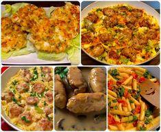 przez około 10 minut na małym ogniu ** Pina Colada, Mozzarella, Baked Potato, Mashed Potatoes, Food And Drink, Cooking Recipes, Dishes, Chicken, Ethnic Recipes