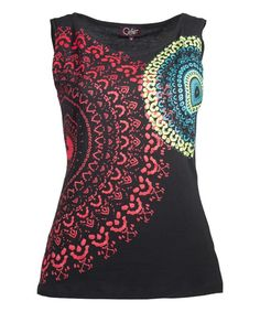 This comfy cotton sleeveless top transitions easily from workouts to casual outings thanks to breathable cotton and a bold graphic.100% cottonHand washImportedShipping note: This item is shipping internationally. Allow extra time for its journey to you.
