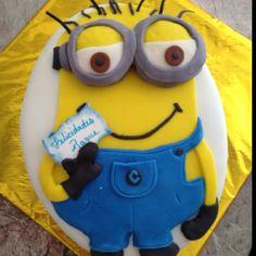 Despicable Me - Minions - mi villano favorito birthday cake fondant bu chef RBK