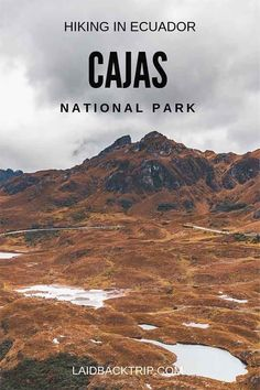 Hiking in Cajas National Park, Ecuador | A day hike in Cajas National Park is one of the best things you can do while visiting Unesco city Cuenca. Read our hiking guide to get the most of this beautiful place in Ecuador. | #cajas #nationalpark #ecuador #hiking #travel