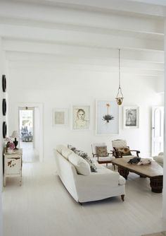 Shades of white are beautiful when done like this.